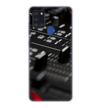 Coque en silicone Samsung Galaxy A21S - Dj Mixer