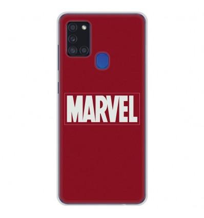 Coque en silicone Samsung Galaxy A21S - Marvel