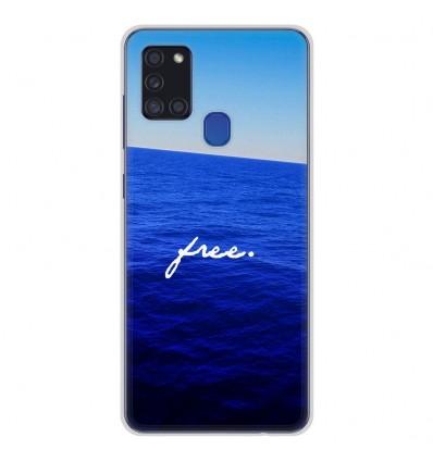 Coque en silicone Samsung Galaxy A21S - Océan free