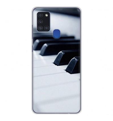 Coque en silicone Samsung Galaxy A21S - Piano
