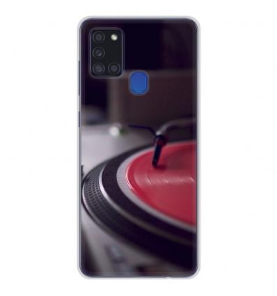Coque en silicone Samsung Galaxy A21S - Platine