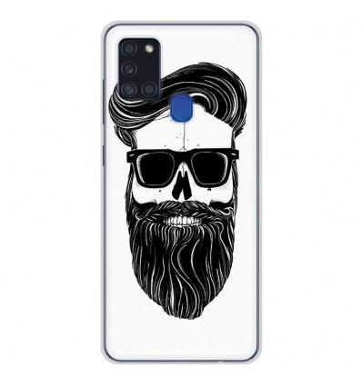 Coque en silicone pour Samsung Galaxy A21S - Skull Hipster