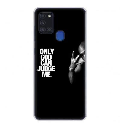 Coque en silicone Samsung Galaxy A21S - Tupac
