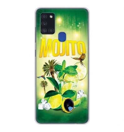 Coque en silicone Samsung Galaxy A21S - Mojito Forêt