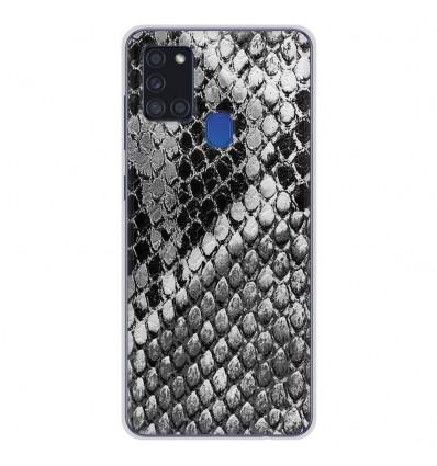 Coque en silicone Samsung Galaxy A21S - Texture Python