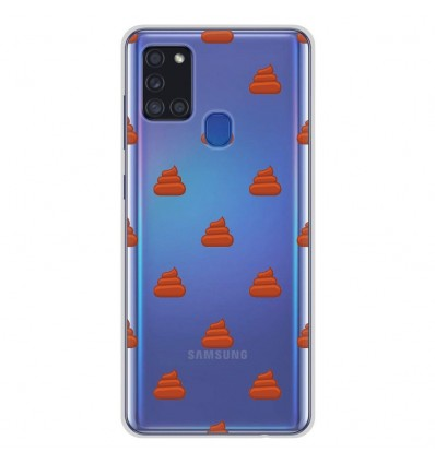 Coque en silicone pour Samsung Galaxy A21S - Caca