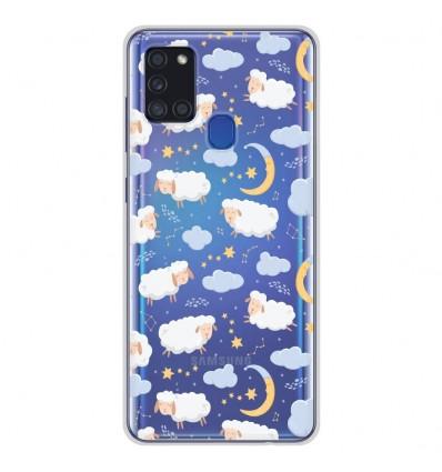Coque en silicone Samsung Galaxy A21S - Mouton Nuage