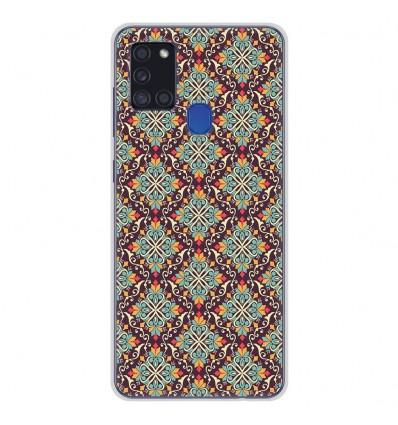 Coque en silicone Samsung Galaxy A21S - Arabesque