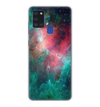 Coque en silicone Samsung Galaxy A21S - Nébuleuse