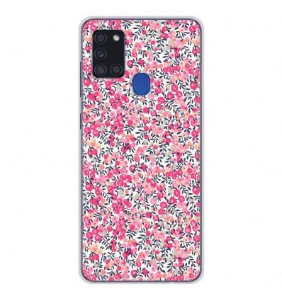 Coque en silicone Samsung Galaxy A21S - Liberty Wiltshire Rose