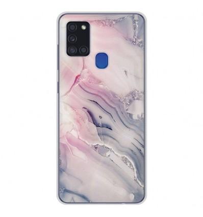 Coque en silicone pour Samsung Galaxy A21S - Zoom sur Pierre Claire