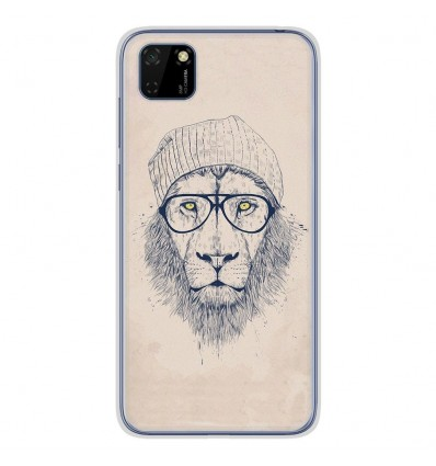 Coque en silicone Huawei Y5P - BS Cool Lion
