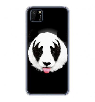 Coque en silicone Huawei Y5P - RF Kiss Of Panda