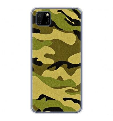Coque en silicone Huawei Y5P - Camouflage