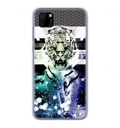 Coque en silicone Huawei Y5P - Tigre swag