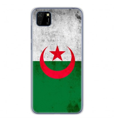 Coque en silicone pour Huawei Y5P - Drapeau Algérie