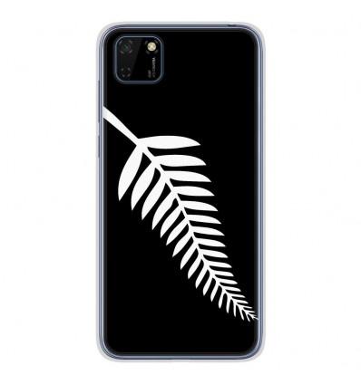 Coque en silicone pour Huawei Y5P - Drapeau All-black