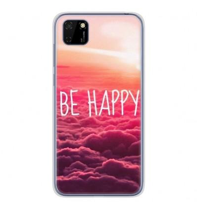 Coque en silicone Huawei Y5P - Be Happy nuage