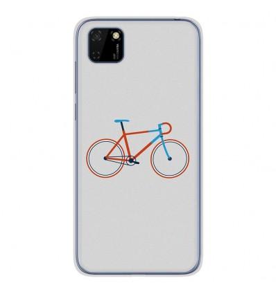 Coque en silicone pour Huawei Y5P - Bike color Hipster
