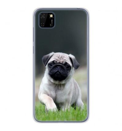 Coque en silicone pour Huawei Y5P - Bulldog français
