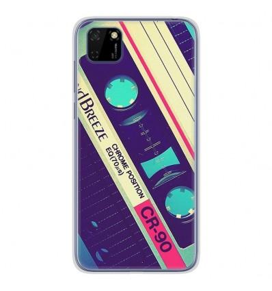 Coque en silicone Huawei Y5P - Cassette Vintage