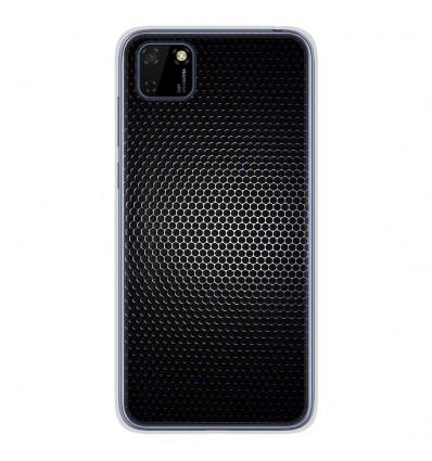 Coque en silicone pour Huawei Y5P - Dark Metal