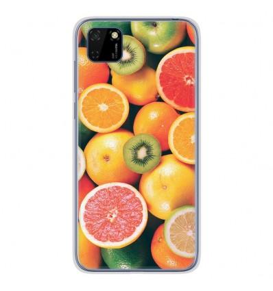 Coque en silicone Huawei Y5P - Fruits