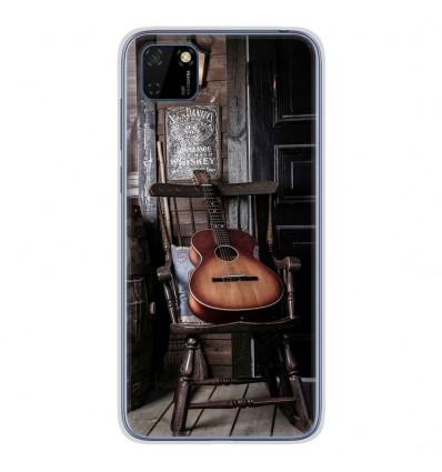 Coque en silicone pour Huawei Y5P - Guitare