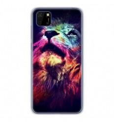 Coque en silicone Huawei Y5P - Lion swag