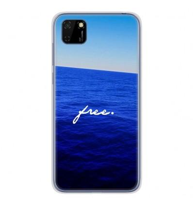Coque en silicone pour Huawei Y5P - Océan free