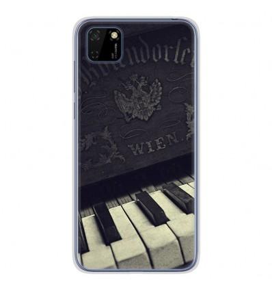 Coque en silicone pour Huawei Y5P - Old piano