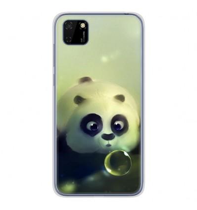 Coque en silicone Huawei Y5P - Panda Bubble