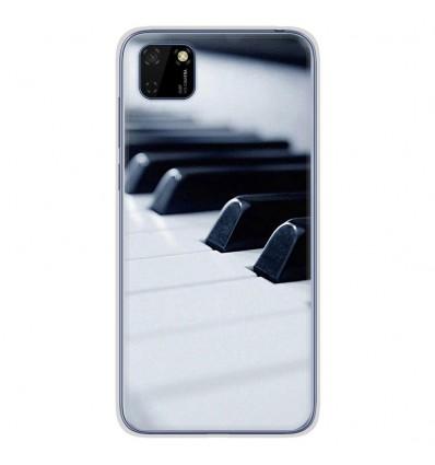 Coque en silicone Huawei Y5P - Piano