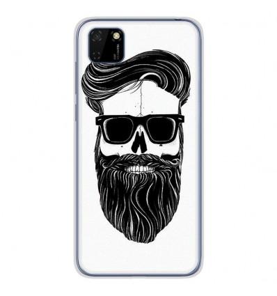 Coque en silicone Huawei Y5P - Skull Hipster