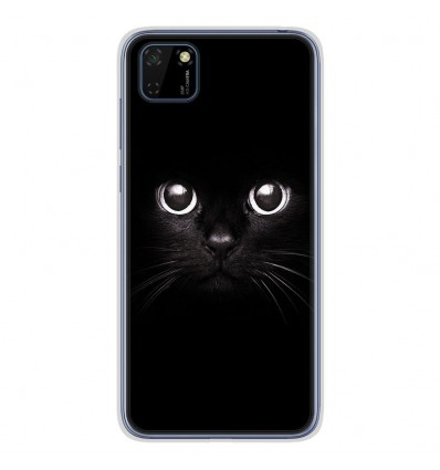 Coque en silicone Huawei Y5P - Yeux de chat