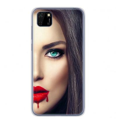 Coque en silicone pour Huawei Y5P - Lèvres Sang