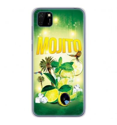 Coque en silicone Huawei Y5P - Mojito Forêt