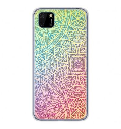 Coque en silicone Huawei Y5P - Mandala Pastel