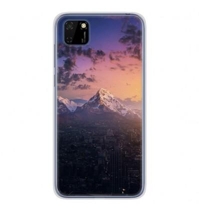 Coque en silicone Huawei Y5P - Montagnes urbaines