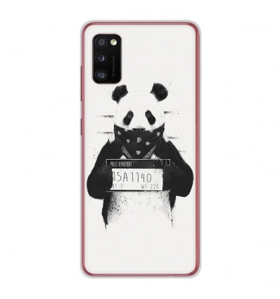 Coque en silicone Samsung Galaxy A41 - BS Bad Panda