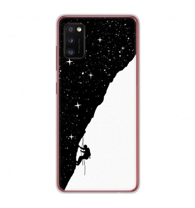 Coque en silicone Samsung Galaxy A41 - BS Nightclimbing