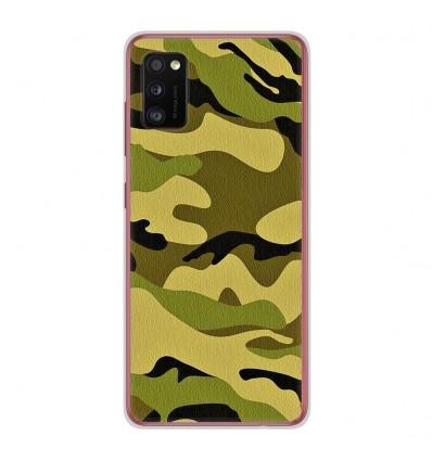 Coque en silicone Samsung Galaxy A41 - Camouflage