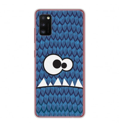 Coque en silicone Samsung Galaxy A41 - Monster