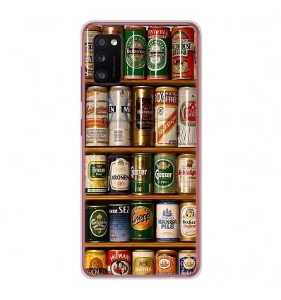 Coque en silicone Samsung Galaxy A41 - Canettes