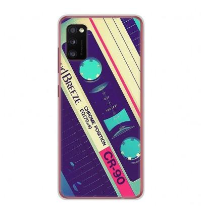 Coque en silicone Samsung Galaxy A41 - Cassette Vintage