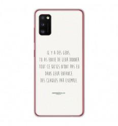 Coque en silicone Samsung Galaxy A41 - Citation 01