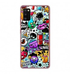 Coque en silicone Samsung Galaxy A41 - Graffiti 2