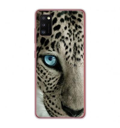 Coque en silicone Samsung Galaxy A41 - Oeil de léopard