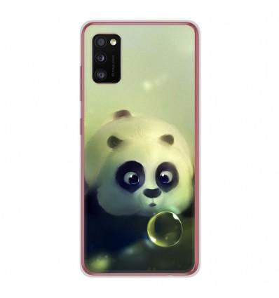 Coque en silicone Samsung Galaxy A41 - Panda Bubble