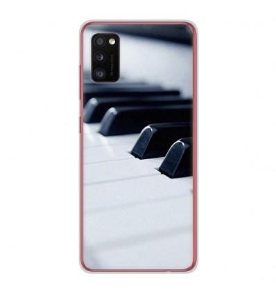 Coque en silicone Samsung Galaxy A41 - Piano